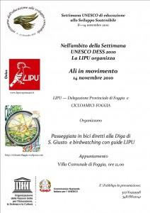 volantino LIPU FIAB giornata Unesco 2010